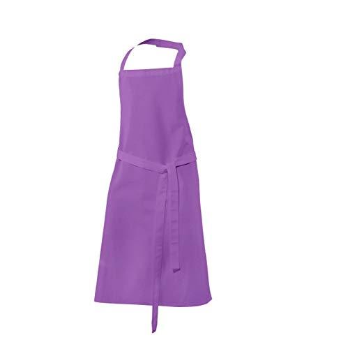 Kinder-Latzschürze Küchenschürze Purple
