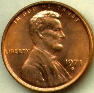 1971 d penny