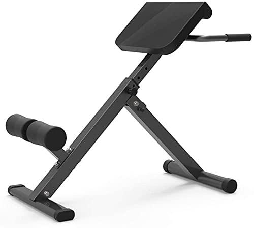 JIAX Equipo de ejercicio de silla de peso ajustable, banco de entrenamiento para entrenamiento de fuerza y entrenamiento abdominal. Ejercicio de fitness para hombres y mujeres