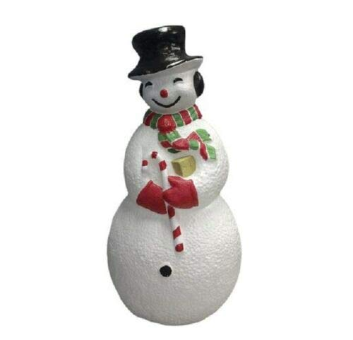 Holiday Home Lighted Snowman Blow Mold Sculpture Outdoor Christmas Decoration Yard Decor