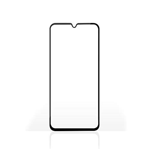 Glasdisplayschutz für Das Samsung Galaxy A40 | Schutz für Das ganze Display | 3D-Krümmung | Transparent/Schwarz