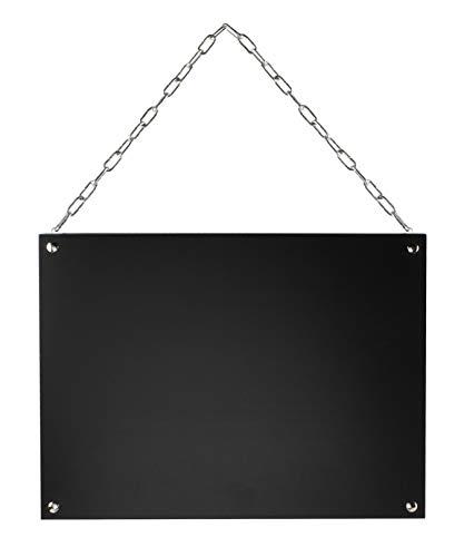 Hängetafel | Kreidetafel | Angebotstafel | Küchentafel | Format 35,5x27 cm | Ofform Design | Nr.47214