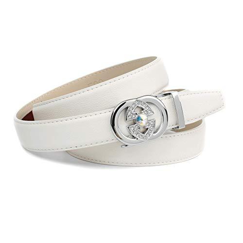 Anthoni Crown Damen K1Ga.F90 Gürtel, Weiß (Weiss 090), 6671 (Herstellergröße: 105)