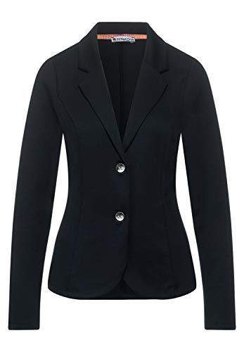 Street One Damen Unifarbener Business Blazer Dark Blue 42
