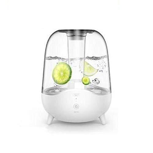 Startseite ruhig Luftbefeuchter, Mini Aroma Diffuser, mit LED-Leuchten, Quiet Befeuchtung, für Schlafzimmer, Büro, Baby,White