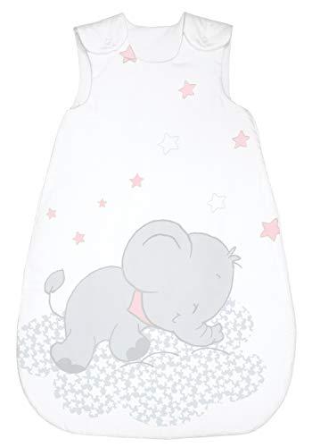 Bebella vital 294695 - Saco de dormir para todo el año (tencel, 90 cm), color rosa