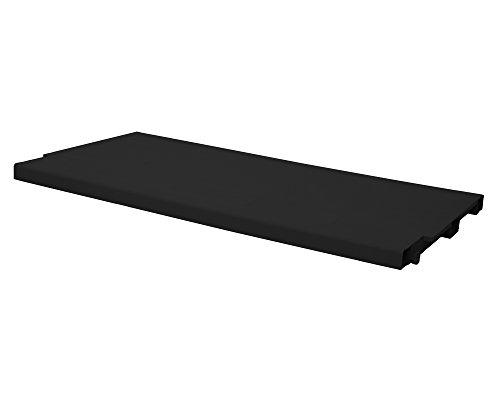 Ondis24 Einlegeboden schwarz für Kunststoffschränke Haushaltsschränke der S-Line