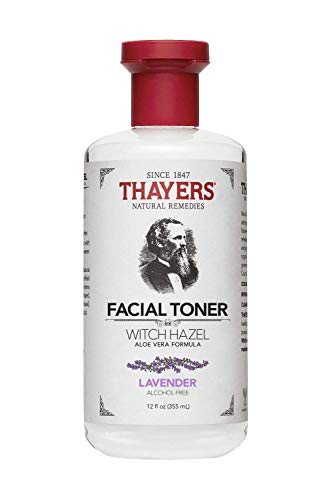 Thayers Alcohol-Free Lavender Witch Hazel Facial Toner with Aloe Vera Formula - 12 oz