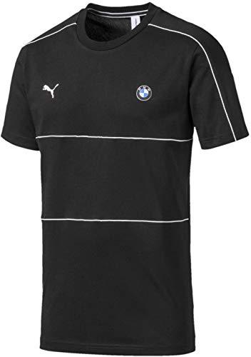 PUMA BMW Motorsport T7 tee Camiseta, Negro Black, S para Hombre