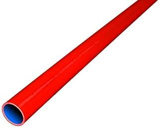 TOYOKING 高強度 シリコンホース ストレート 同径 ロング 内径Φ9.5mm 長さ 1m (1000mm) 赤色 ロゴマーク無し インタークーラー ターボ ラジェーター ライン 汎用品