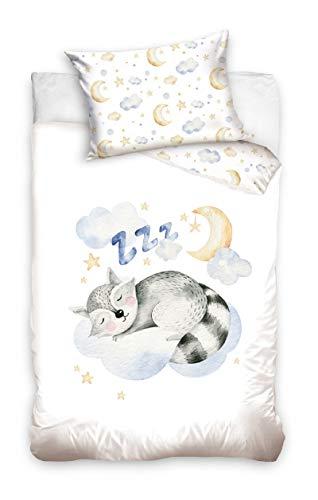 Baby bed linen children's bed linen 100 x 135 cm + 40 x 60 cm baby duvet cover.
