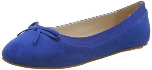 Buffalo Damen ANNELIE Geschlossene Ballerinas, Blau (Electric Blue 001), 39 EU