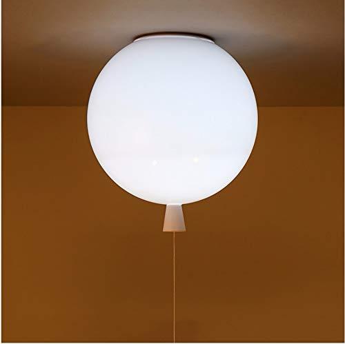 Plafonniers Blancs En Ballon, Lampes D'Éclairage Des Escaliers De Chevet Chambre D'Enfant Chambre D'Enfant Bébé, Applique Murale Lamparas E27