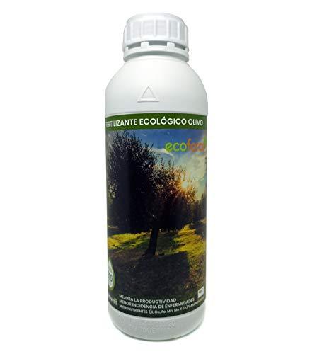 CULTIVERS Fertilizante Ecológico para Olivo Líquido de 1 L. Abono 100% Orgánico...