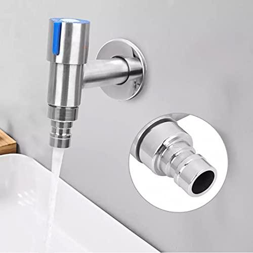 Grifo de agua de acero inoxidable G1 / 2'para lavandería baño lavadora grifo de agua montado en la pared