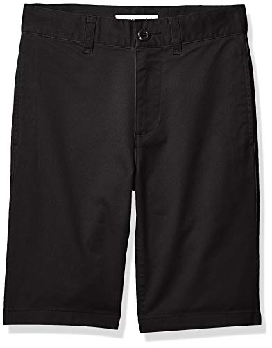 Amazon Essentials – Pantalón corto para niño, Negro, US 8 (EU 128 CM, H)