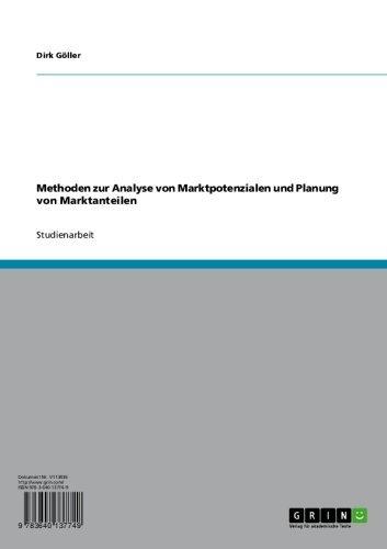 Methoden zur Analyse von Marktpotenzialen und Planung von Marktanteilen