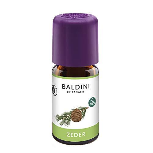 Baldini Bio Zederöl, 100% naturreines, ätherisches Zeder Öl BIO, 5 ml