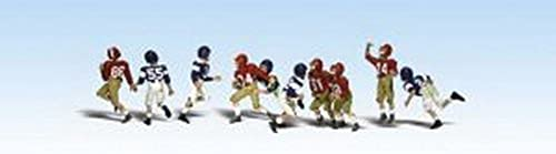 Woodland Scenics HO Scale Scenic Accents Figures People Youth Football Players by Woodland Scenics