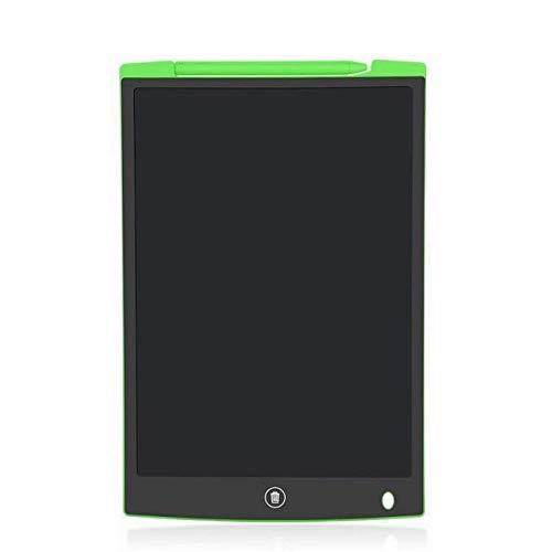 BXGZXYQ 12-Zoll-LCD-Tablet-LCD mit Schloss dicken Stift Tablett Lichtenergie Tafel Kinder intelligente elektronische Hand Malbrett Blackboard Pens (Farbe : Green)