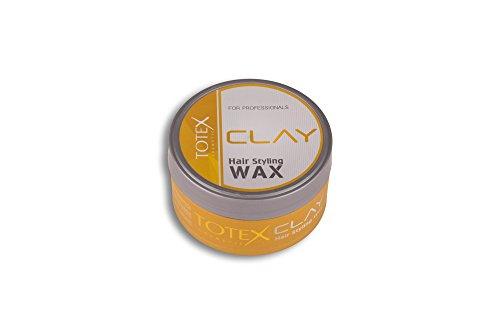 TOTEX Hair Styling Wax Clay 150 ml (1 Stück) Haarwax - Haarwachs