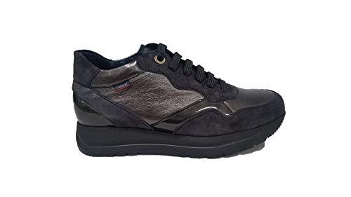 Callaghan - Zapatillas deportivas para mujer 40700 color plateado