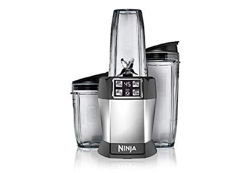 Nutri Ninja BL482 Auto-iQ Blender 1000 Watts, Black (Renewed)