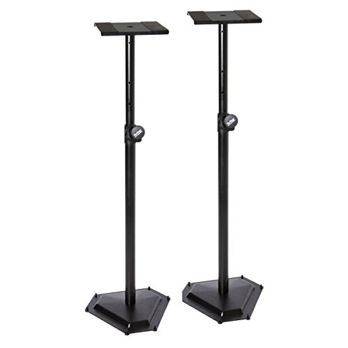 On Stage Stands SMS6600-P Hex-Base Monitor Stand