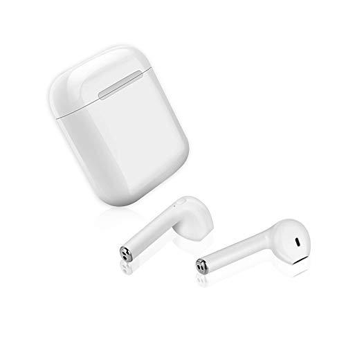 Cuffie Bluetooth, Auricolari Bluetooth 5.0 16h Playtime 3D stereo HD Cuffie wireless con Microfono, Binaurale Call auto Pairing, Auricolari Senza Fili con custodia di ricarica portatile
