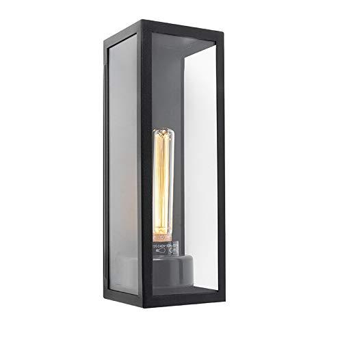 QAZQA Aplique moderno rectangular exterior