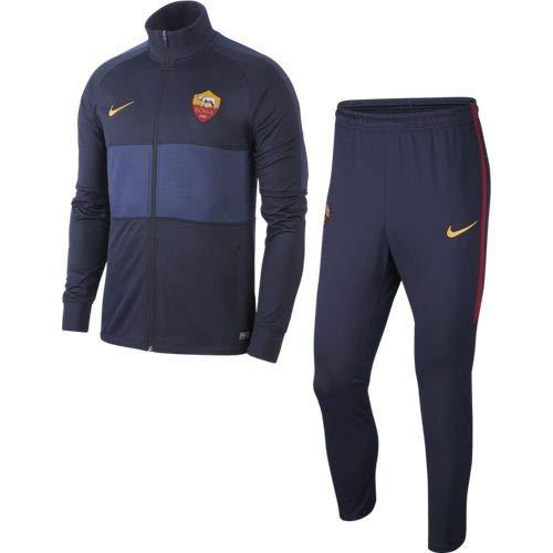 Nike Unbekannter Institutioneller Trainingsanzug Obsidian 2019/20, Warm Up, Herren S blau