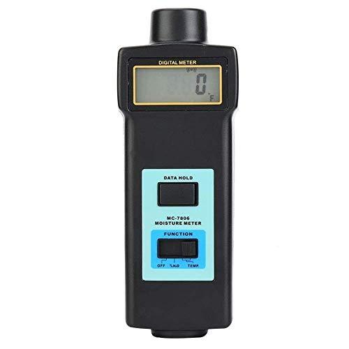 CKQ-KQ Vochtmeter Digital LCD Handheld Hout vochtmeter Damp Detector Hygrometer Tester Sensor for Wood Bamboo Paper Cotton Architecture vochtigheid tester