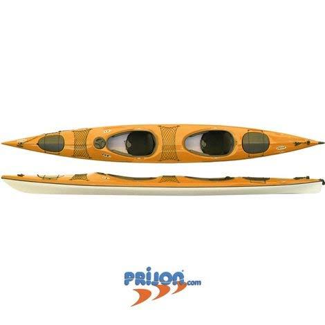Prijon Yukon K2 Sport - Kayak da Escursionismo a 2 kajak, Colore: Arancione, ohne Steuer