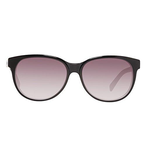 Just Cavalli Sonnenbrille JC673S 5501B Gafas de sol, Negro (Schwarz), 55 para Mujer