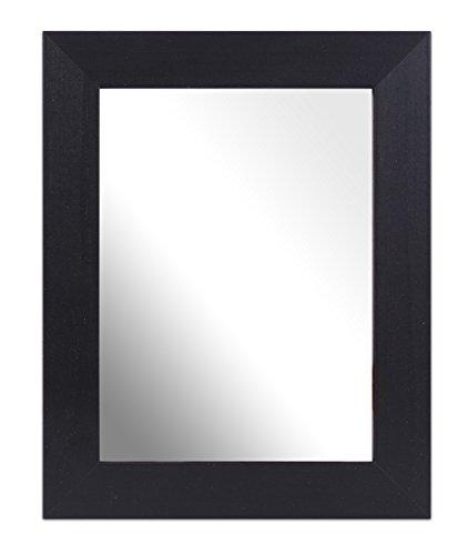 Inov8–8 x 6 cm-Pose Traditionnel de Fabrication Britannique en Bois véritable avec Miroir Noir