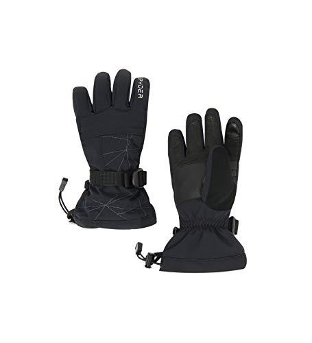 Spyder Jungen Overweb Handschuhe, Black, S
