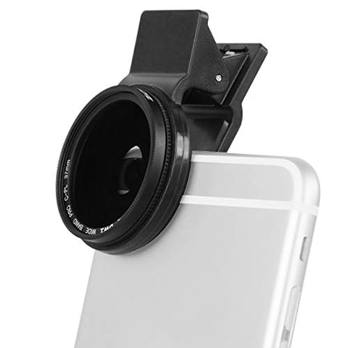 huoguo Modish 37MM Professional Phone Camera Circular Polarizer CPL Lens for iPhone 7 6S Plus Samsung Galaxy Huawei HTC Windows Android (Size : 37mm)