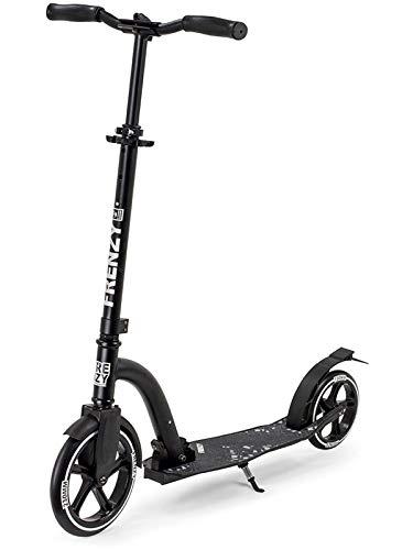 Frenzy V2 Recreational Scooter Roller Unisex Erwachsene, Unisex-Erwachsene, FR230-2, Schwarz (Black), 230 mm