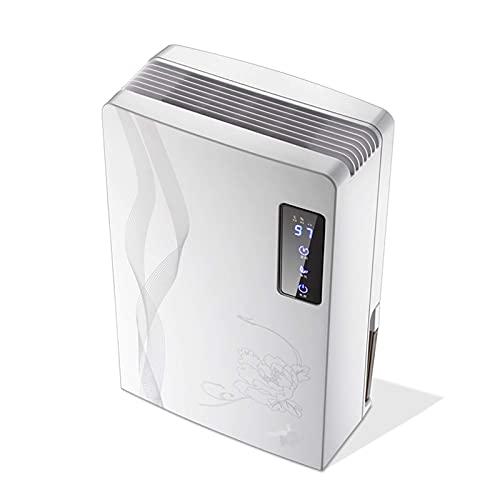 QCSMegy Deshumidificador portátil, Mini deshumidificador Ultra silencioso con una Capacidad de 2200ml Deshumidificador pequeño para Cocina, Dormitorio, baño, baño