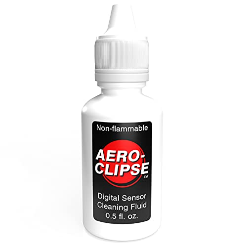 Photographic Solutions 0.5 fl oz Aeroclipse Cleaning Fluid for Digital Sensor, Non-Flammable