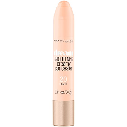 Maybelline New York Dream Brightening Creamy Concealer, Light, 0.11 oz.
