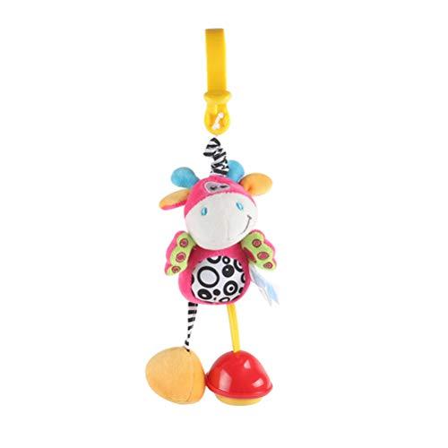 Katyma Juguete para cochecito de bebé, juguete para bebé, sonajero, juguete para recién nacidos, asiento de coche, juguete sensorial, juguete de aprendizaje para niños pequeños, regalo