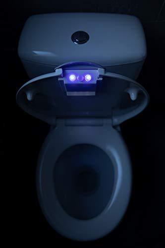 WC Sitz mit LED Beleuchtung, Duroplast WC Deckel mit Absenkautomatik, Toilettendeckel