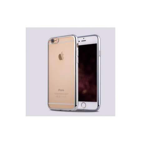 Third Party - Housse Silicone iPhone 6+ / 6S+ Argenté - 3700936104366
