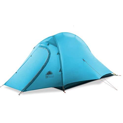 Bdesign Camping Automatique Pop Up Tent 2 Personne Portable Pliant extérieur Tente de Plage à Ouverture Rapide 100% étanche for Facile à Mettre en Place la Taille (210 * 140 * 110cm) (Color : Blue)