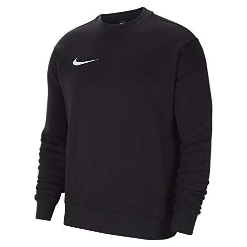Nike Herren Team Park 20 Crewneck Longsleeve, Black/White, S