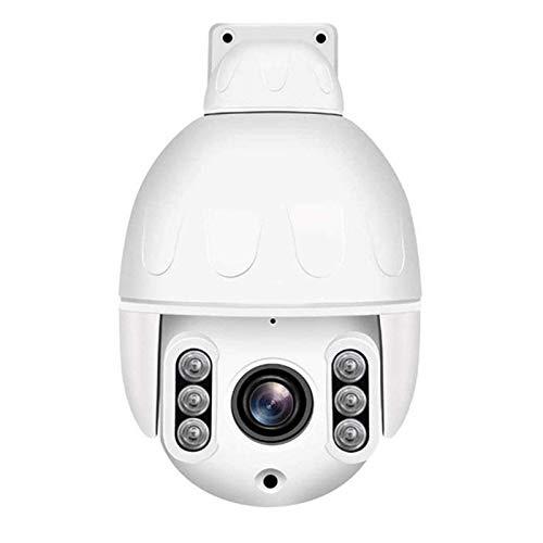 Cámara De 5 Megapíxeles PTZ Seguridad Al Aire Libre WiFi CCTV IP De Vigilancia, con 360 ° Pan 120 ° Inclinación De Seguimiento Auto Detección Humana Audio De Dos Vías IP66 A Prueba De Agua