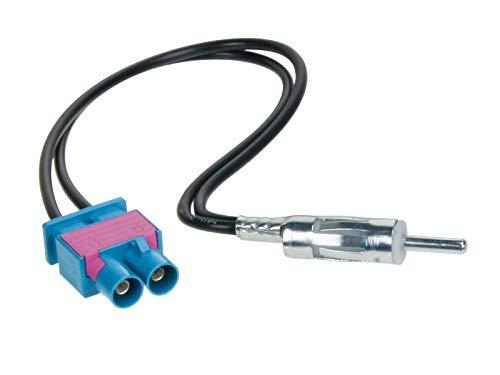 ACV 1524-09 Adaptateur d'antenne Double Fakra pour Audi Seat/Skoda/VW