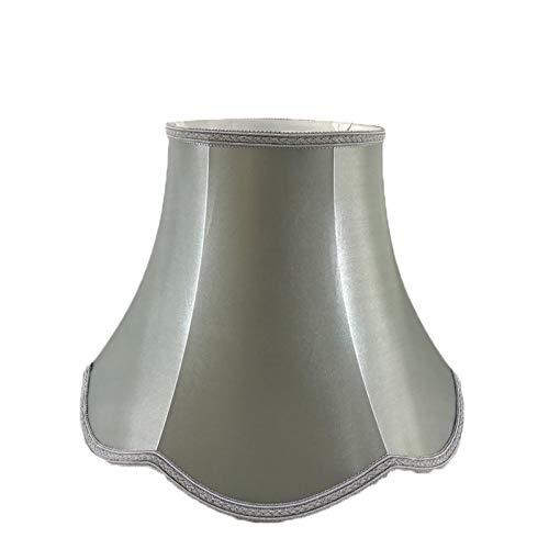 SACYSAC Pantalla de Tela del Palacio, Onda de Encaje a Mano Encaje Retro Dormitorio Sala de Estar lámpara lámpara,E