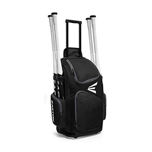 EASTON TRAVELER Bat & Equipment Wheeled Bag, Black